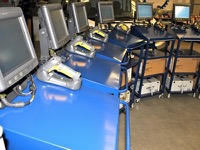 Subcontracted manufacture of electric trollleys or electronic consoles in the medical or industrial sectors